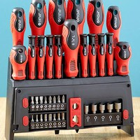 39-Pc. Screwdriver Set with Rack