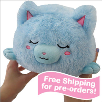 Mini Squishable Sleepy Cat: An Adorable Fuzzy Plush to Snurfle and Squeeze!