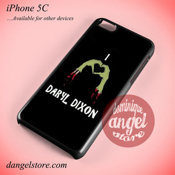 I Love Daryl Dixon Phone case for iPhone 5C and another iPhone devices