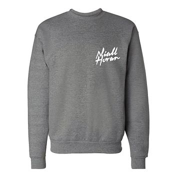 "Niall Horan ""NEW Logo CORNER"" Crew Neck Sweatshirt"