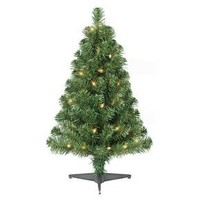 2ft Prelit Artificial Christmas Tree Alberta Spruce Clear Lights - Wondershop™
