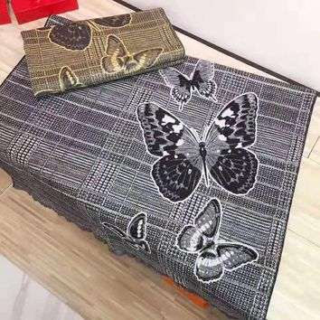 GIVENCHY Newest Fashionable Butterfly Pattern Cashmere Cape Scarf Scarves Shawl Accessories