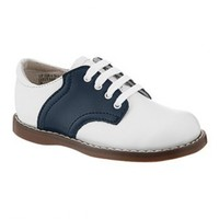 Vintage Inspired Girls Clothes Little Girls Oxford Saddle Shoes | Vindie Baby