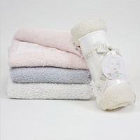Barefoot Dreams Cozy Chic Receiving Blanket - Baby Blanket From Cozy Chic Collection