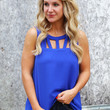 Business Day Tank {Royal}