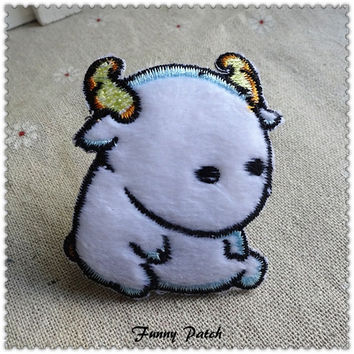 Little Monsters Iron on Patch 448-H
