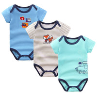 Baby Bodysuits Cotton Infant Body Bebes Clothing for Newborn Baby Boy Girls Printed Cute Baby Clothe Jumpsuits 0-9 Months