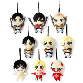 Attack on Titan Micro Plush Blind Box