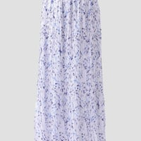 In Flight Printed Maxi Skirt