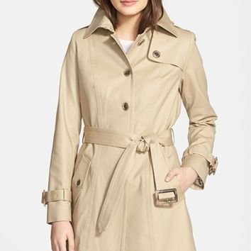 Women's Pendleton 'Pacific Crest' Single Breasted Trench Coat