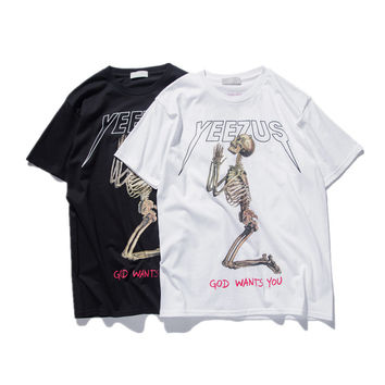 YEEZUS SKELETON SHIRT