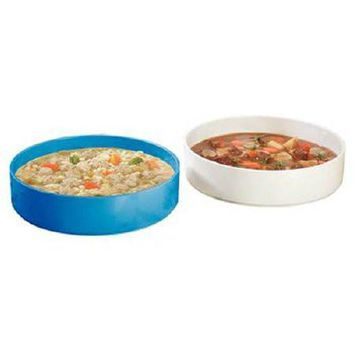 Patterson Medical Supply 1430 High-Side Dish White Reusable Melamine Plastic -1 Count