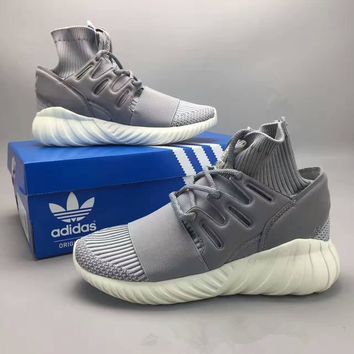 adidas tubular doom fashion casual small coconut unisex sneakers couple running shoes-1