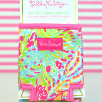 LILLY PULITZER: Koozie Set - Spot Ya/In the Bungalows