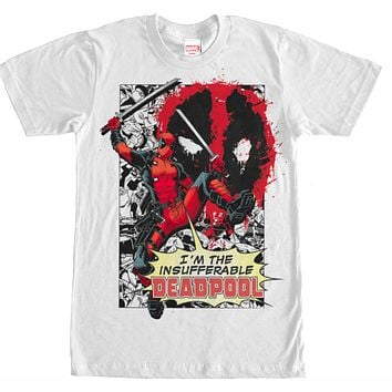 Deadpool - T-Shirt - Insufferable
