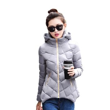 Warm Winter Coat Women Plus Size Winter Jackets Cheap Down Jacket Big Size Winterjas Vrouwen Short Feminino Ladies Coats 50D