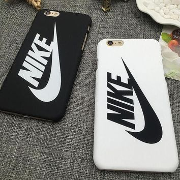 Simple Unique NIKE Hook Print Iphone 7 & Plus & 6 6s Plus Cover Case