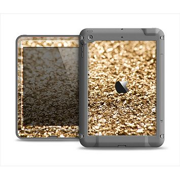 The Gold Glimmer V2 Apple iPad Mini LifeProof Nuud Case Skin Set