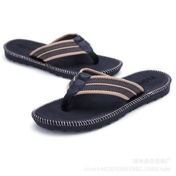Couple Summer Korean Fashion Men Beach Anti-skid Slippers [11641753551]