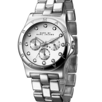 ac NOVQ2A MJ Marc BY Marc Jacobs passion ,deep feeling,shiny, fashion watch L-PS-XSDZBSH Silver