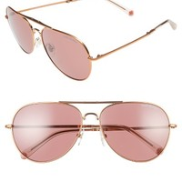 Tory Burch 58mm Foldable Aviator Sunglasses | Nordstrom