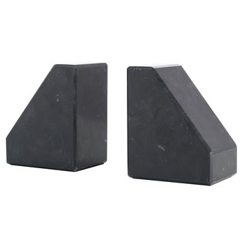 Stevie Marble Bookends