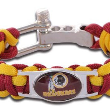 NFL - Washington Redskins Custom Paracord Bracelet