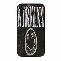Nirvana Wood Sign Art iPhone 4 Case
