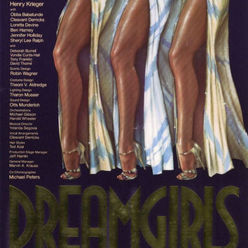 Dreamgirls 11x17 Broadway Show Poster (1981)