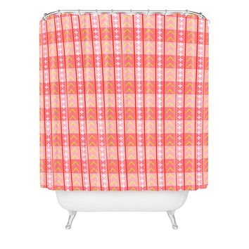 Caroline Okun Powell Shower Curtain