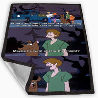 Scooby Doo Blanket for Kids Blanket, Fleece Blanket Cute and Awesome Blanket for your bedding, Blanket fleece **