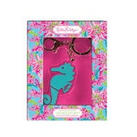 Keychain with USB Flash Drive in Seahorse by Lilly Pulitzer