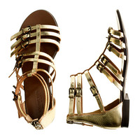 crewcuts Girls Milano Gladiator Sandals