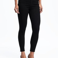 High-Rise Black Rockstar Jeans for Women | Old Navy