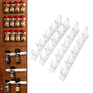 North Shore Outlet's Spice Rack Kitchen Organizer Clips (12)