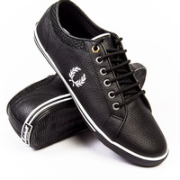 Fred Perry Kingston Leather X Marshall Black Sneaker