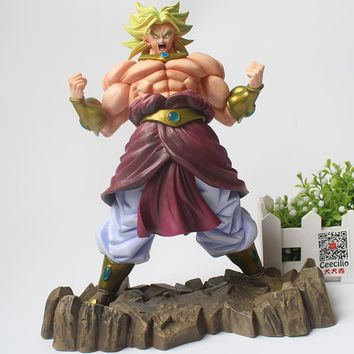 Anime Dragon Ball Z Action Figures Broli Super Saiyan Broly PVC Action Figure Collectible Figurine CEECILIO