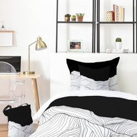 Viviana Gonzalez Lines in the mountains II Bed In A Bag | DENY Designs Home Accessories