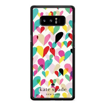 Kate Spade New York Hearts Samsung Galaxy Note 8 Case