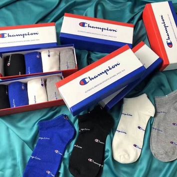 ❤shosouvenir❤Champion Socks - Boxed A set for 4 pairs