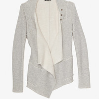 Drew EXCLUSIVE Cotton Snap Jacket-Tops-Exclusives-Categories- IntermixOnline.com