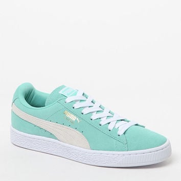 Puma Women's Mint Suede Classic Sneakers at PacSun.com