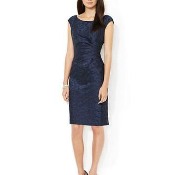 Lauren Ralph Lauren Petite Jacquard Dress