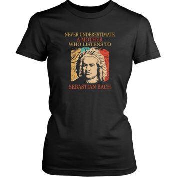 Never underestimate a mother who listens to Sebastian Bach T-shirt