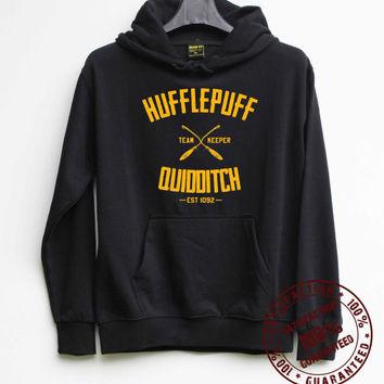 Hufflepuff Quidditch Shirt Harry Potter Shirt Hoodie – Size S M L XL