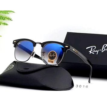 Ray Ban 2019 new tempered glass lens color film polarized sunglasses #2