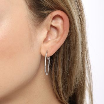 Dylan Skye Frost Yourself Hoop Earrings