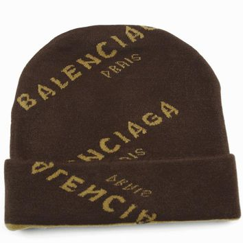 Perfect Balenciaga  Fashion Edgy  Winter Beanies Knit Hat Cap
