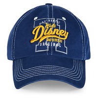 Walt Disney World Collegiate Baseball Cap for Adults - Navy | Disney Store