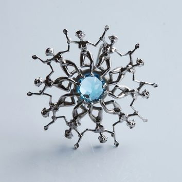 Water Ballets Brooch